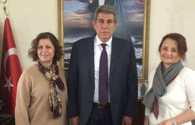 Balçova belediye başkan ziyareti ..